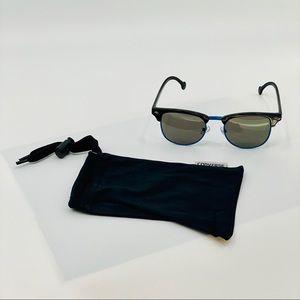 CONVERSE 100% UV Black Sunglasses w/ Carrying Bag